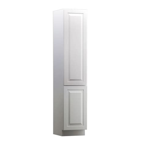 All 15 Cabinet Departments by Shop Kraftmaid 15 In W X 88 5 In H X 18 In D White Maple