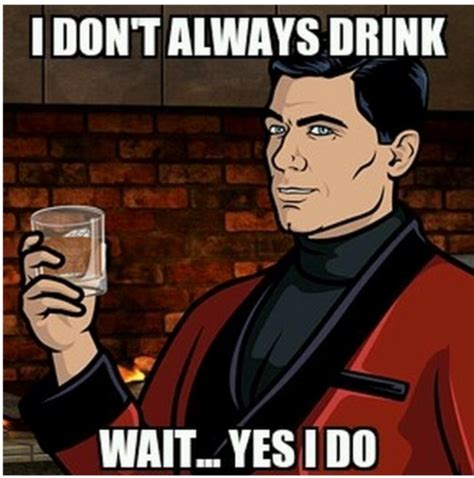 Archer Meme Generator - 429 best drinking images on pinterest blame quotes wine