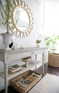wonderful How To Decorate A Console Table #1: Elegant_entrance_way_home_decor.jpg