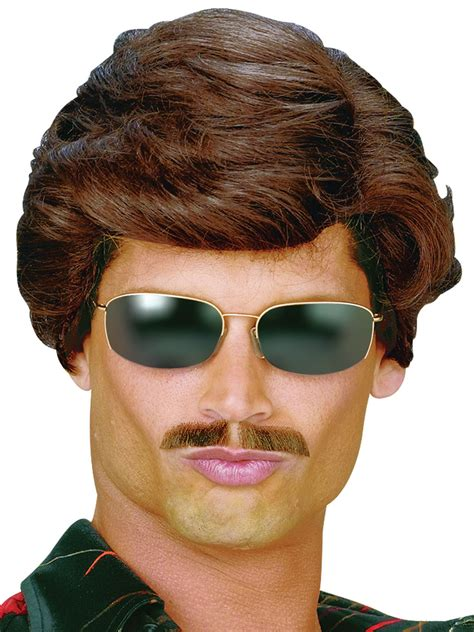 wigs for men over 50 50s wigs for men 60s wigs for men 80s wigs for men