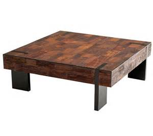 Reclaimed Coffee Table Reclaimed Wood Furniture Salvaged Distressed Wood