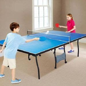 tournament ping pong table size blue official tournament size ping pong table tennis