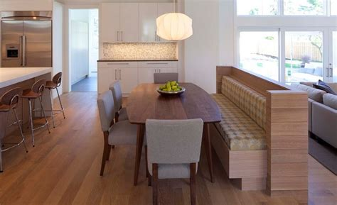 kitchen bench table seating how a kitchen table with bench seating can totally