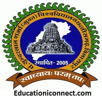 Darla Mba Cost by Pandit Sundarlal Sharma Open Fee Structure 2017
