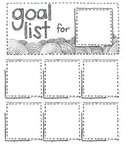 goal poster template 1000 ideas about goal list on goal settings