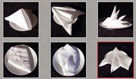 Fancy Ways To Fold Paper Napkins - fancy napkin folding