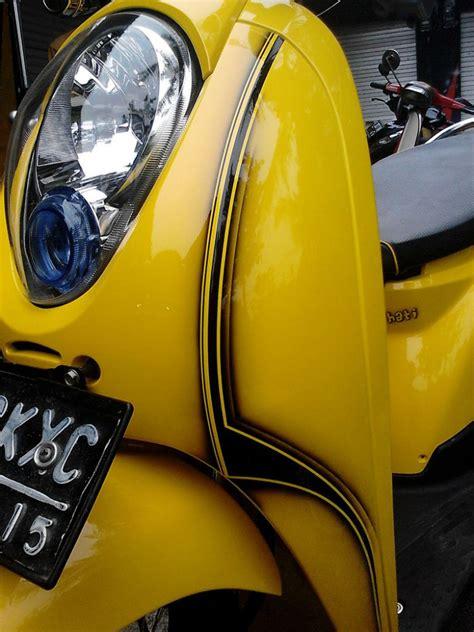 Lu Hid Buat Motor Scoopy honda scoopy thn 2010 modifikasi jual motor honda scoopy