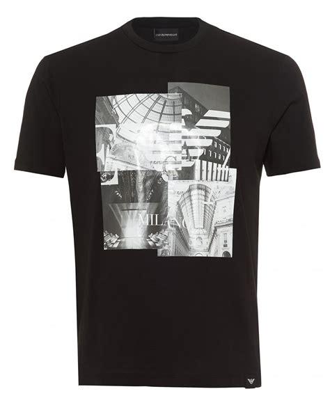 Tshirt Giorgio Armani Dealldo Merch emporio armani mens print t shirt regular fit black