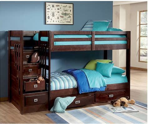 Bunk Beds Bedding Berkeley Staircase Bunk Bed The Brick