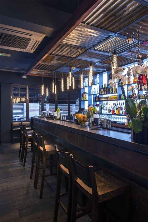 bar design korean restaurant bar  london designers