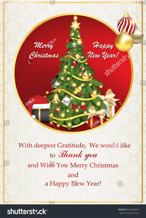 business greeting card christmas stock illustration  shutterstock