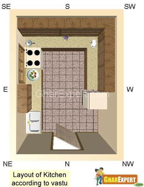 bedroom above kitchen vastu layout of kitchen according to vastu gharexpert