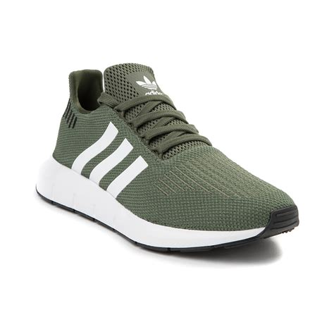 womens adidas swift run athletic shoe green