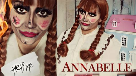 annabelle doll makeup annabelle possessed doll makeup tutorial