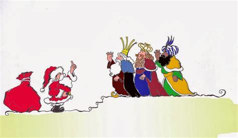 imagenes reyes magos y papa noel actividades para ni 241 os 191 papa noel o reyes magos