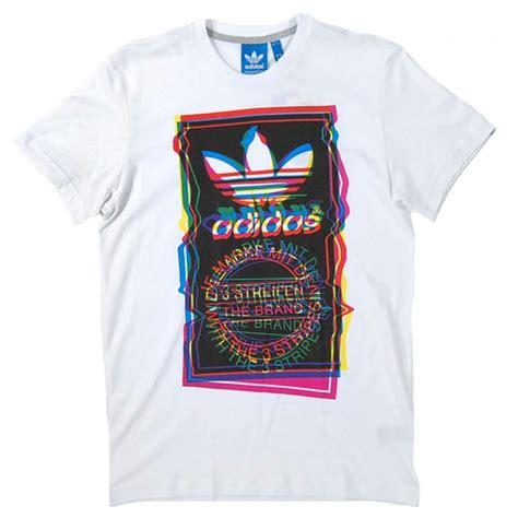 adidas t shirt pattern adidas originals test pattern t shirt white mens t