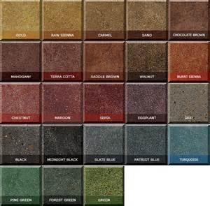 concrete dye colors innovacolor dyes