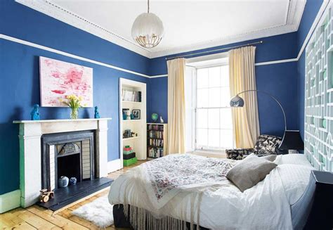 modern blue bedroom 8 modern makeovers of victorian homes real homes