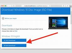 How to Download Windows 10 ISO for Free Windows 10 Download 64 Bit Iso