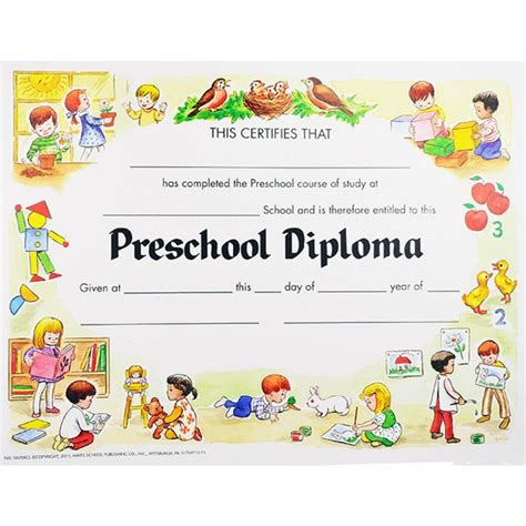 preschool graduation certificates templates preschool graduation certificates unique preschool