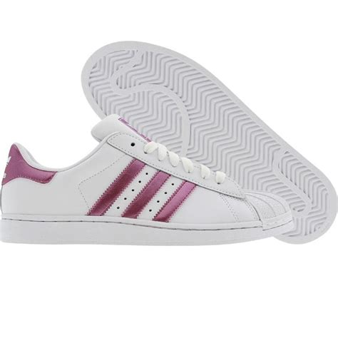 adidas superstar runninwhite pink metallic g22948 59 99 adidas superstar adidas