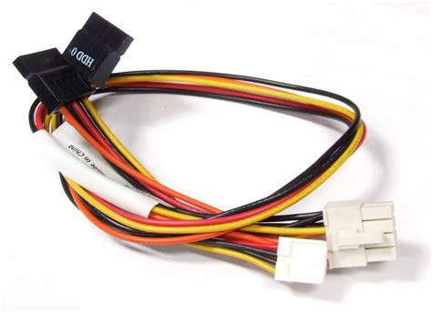 Kabel 4 Pin Molex To 2x Fdd Power High Quality 8 pin atx to 2x 15 pin sata 4 pin floppy fdd hdd power cable strom kabel