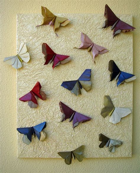 Lafosse Origami - origami butterflies by michael lafosse origami diagrams