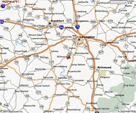kentucky map counties roads kentucky maps and state information