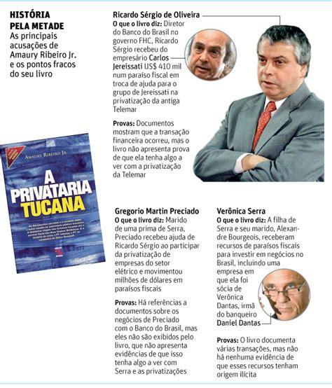 quem trabalhou entre 2003 e 2011 pode receber at 18 mil mentira a privataria tucana jornalista acusa tucanos de receber