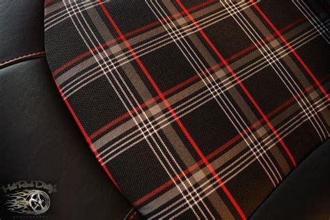 Plaid Automotive Upholstery Fabric by 17 Best Images About Vintage Plaid And Hounds Tooth Auto