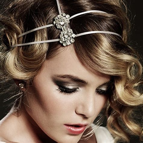 the great gatsby hairstyles for long hair all hair style gatsby inspired hair accessories