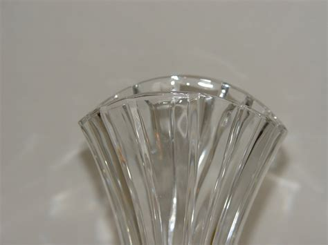 mikasa vase beautiful mikasa lead 10 inch vase flores pattern other glass