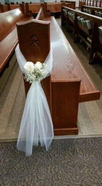 wedding simple decorations church pews  ideas