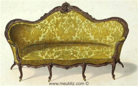 Ottomane Meuble by Ottomane Louis Xv 224 Grandes Oreilles Meuble De Style