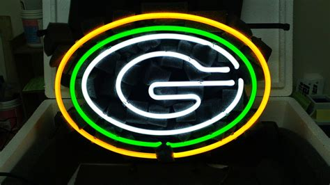 green bay packers lights wiki neon sign nfl green bay packers bar