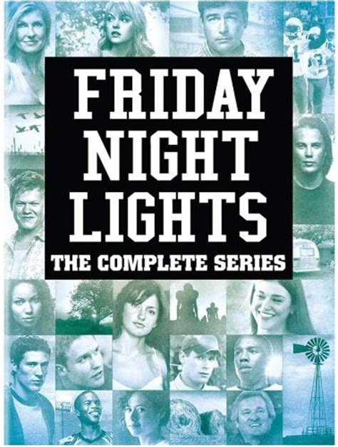 Friday Date With The Tv by Friday Lights Dvd Hd Dvd Fullscreen Widescreen
