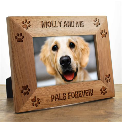 puppy picture frames photo frames personalised keepitpersonal co uk