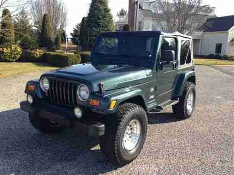 33 Tires For Jeep Wrangler Sell Used Lifted 03 Jeep Wrangler Edition Procomp