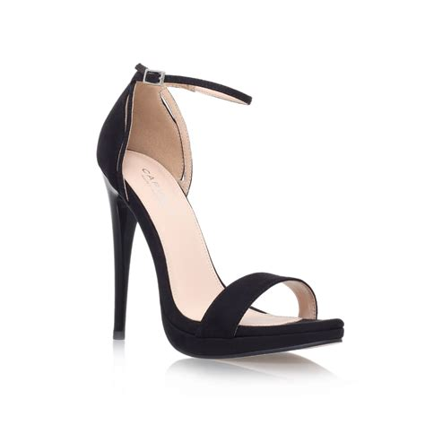 high heel sandals carvela kurt geiger high heel sandals in black lyst