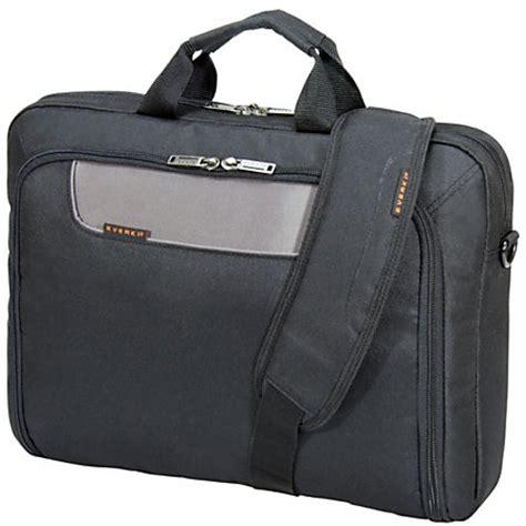 Office Depot Laptop Bags by Everki Advance Laptop Bag Briefcase For 17 3 Laptops Black