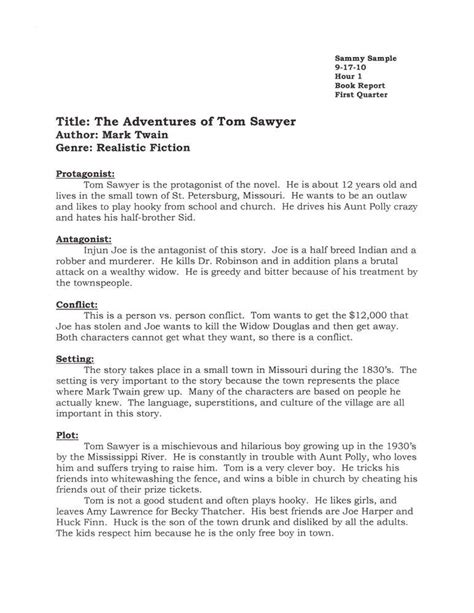 exles of book report in book reports 187 archive 187 book report exle