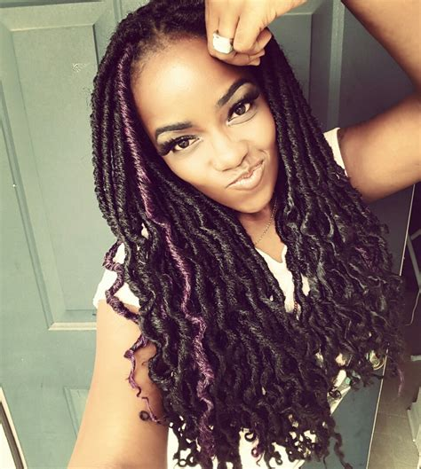 Hairstyles With Marley Hair by 6 Cool Faux Locs Hairstyles With Marley Hair Hairstylesout