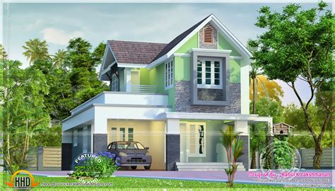 Cute House Designs | cute little house plan kerala home design and floor plans