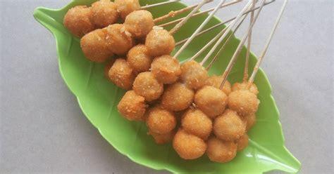 resep bakso goreng crispy enak  sederhana cookpad