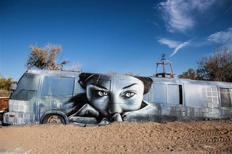 Buying Artwork by Slab City S East Jesus Not Waiting For Bulldozers To