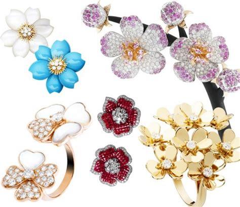 gioielli fiore gioielli floreali l ispirazione di 7 top brand molu