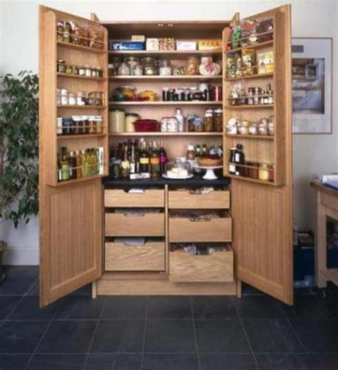 Freestanding Pantry Cabinet For Kitchen How To Design Kitchen Pantry Architecture Decorating Ideas