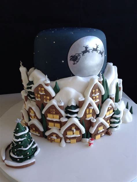 Santa Claus Coming santa claus is coming to town cakecentral