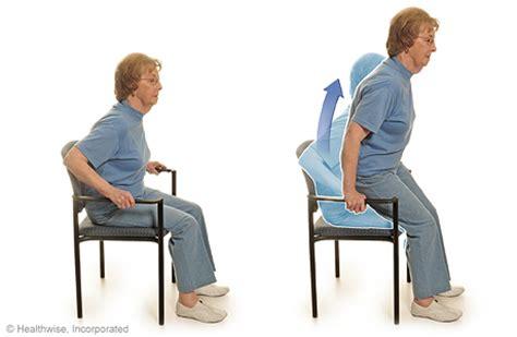 Chair Push Ups by Health Wellness Kaiser Permanente