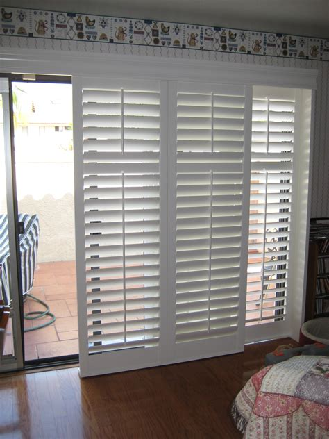 Patio Door Coverings Options Venetian Blinds For Patio Doors Doors Ideas